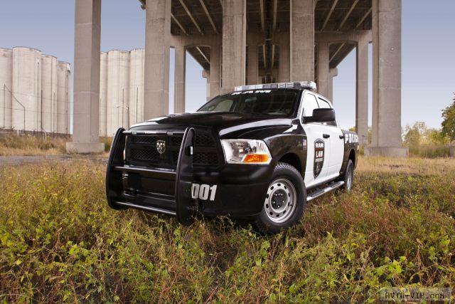 Полицейский автомобиль Ram