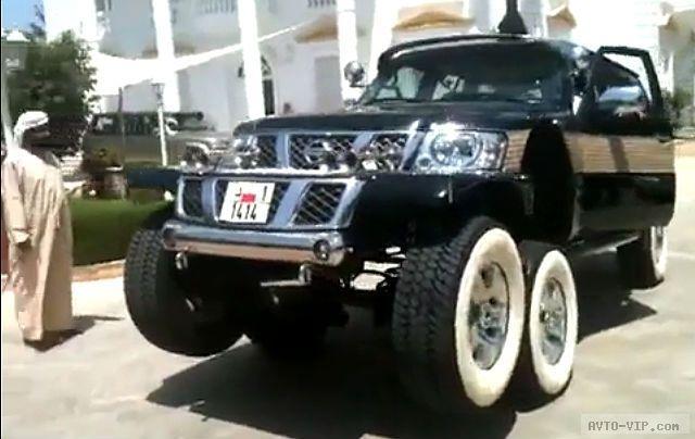 Многоколесные машины из гаража шейха Хамада avto-vip.com