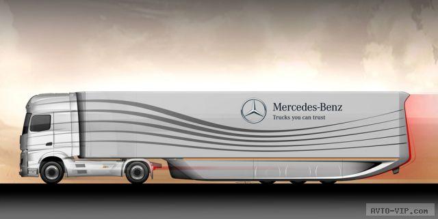 фура от Mercedes