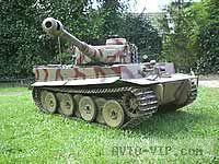 Тигр 1 1/6th RC Модель танка
