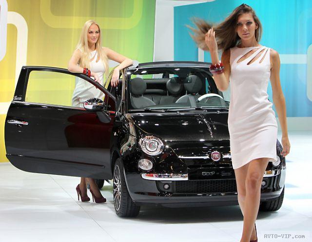 Франкфуртские девушки на автошоу 2011