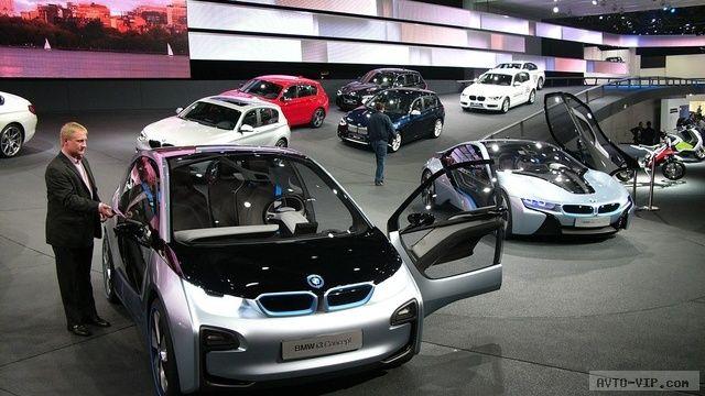 Концепты BMW-i во Франкфурте