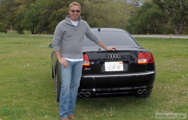 Kevin Costner owns an Audi A8 and Audi Q7