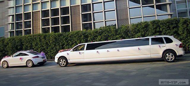 свадебный стретч-лимузин Порше