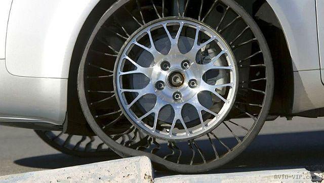 Необычные, безвоздушные шины для обычных автомобилей предлагает использовать Michelin