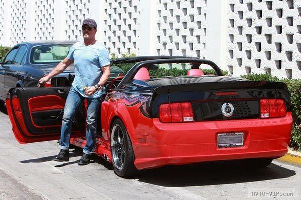 Stallone's custom Mustang GT