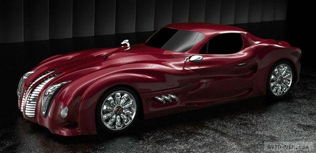 Концепт необычного автомобиля Alessian 2012