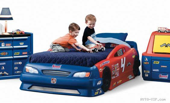 Американская авто кровать