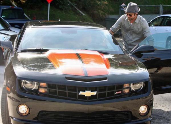Brad Pitt's custom Chevy Camaro SS