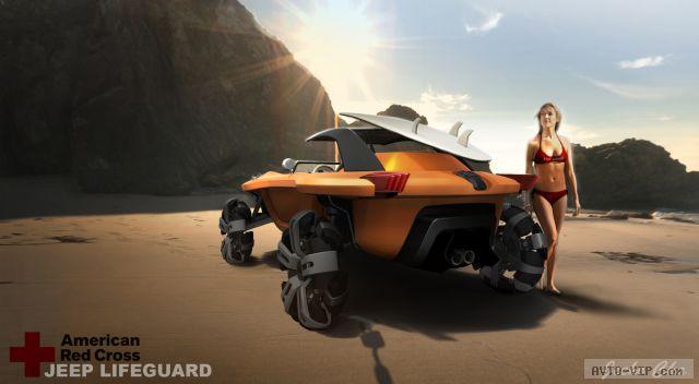 Автомобиль-амфибия Jeep Unlimited 2046