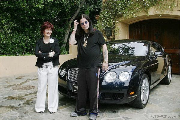 Ozzy and Sharon Osbourne's Bentley Continental GT