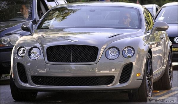 Beckham's Bentley Continental Supersports