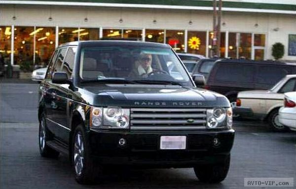 Charlize Theron's Range Rover