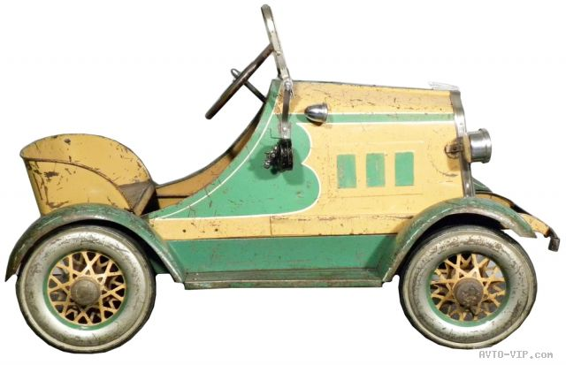 Коллекция американских детских машинок 1930 Toledo Oakland