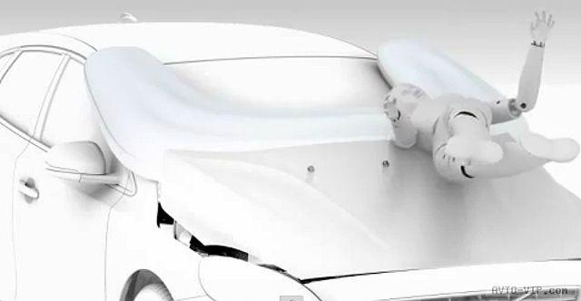 Volvo V40   внешняя воздушная подушка