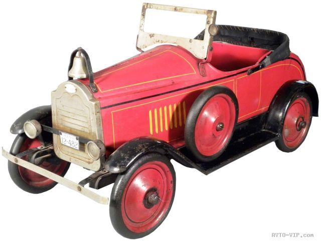 Коллекция американских детских машинок Американской Пожарной команды