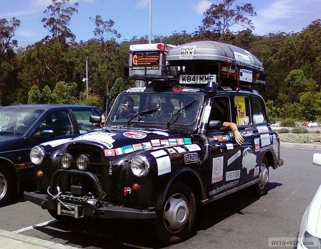 Такси в турне по миру