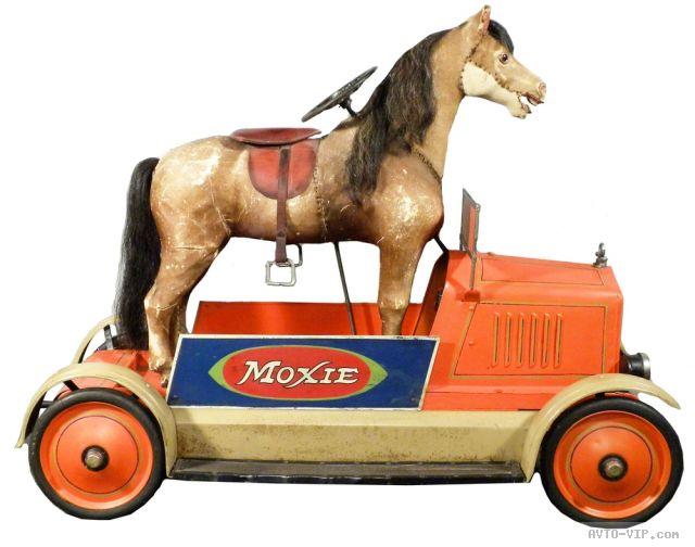 Коллекция американских детских машинок Moxie Horsemobile