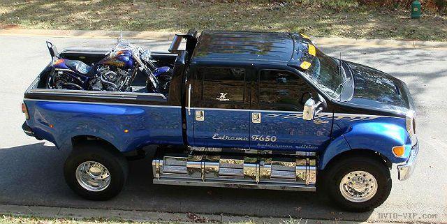 Роскошный грузовичок Ford F650