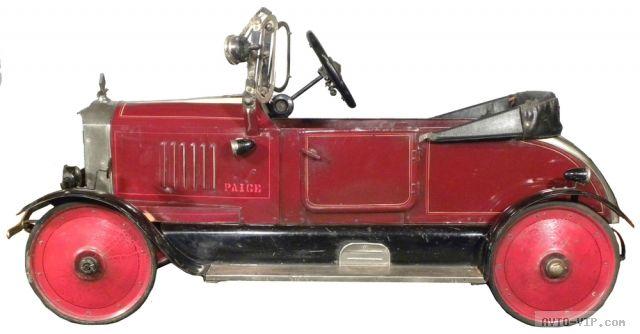 Коллекция американских детских машинок 1926 Paige