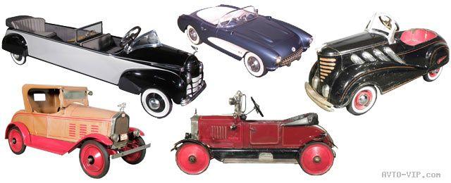 Коллекция американских детских машинок
