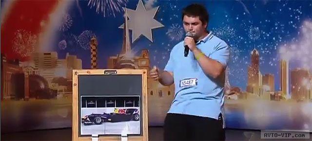 Звуки работающих автомобильных моторов на талант-шоу