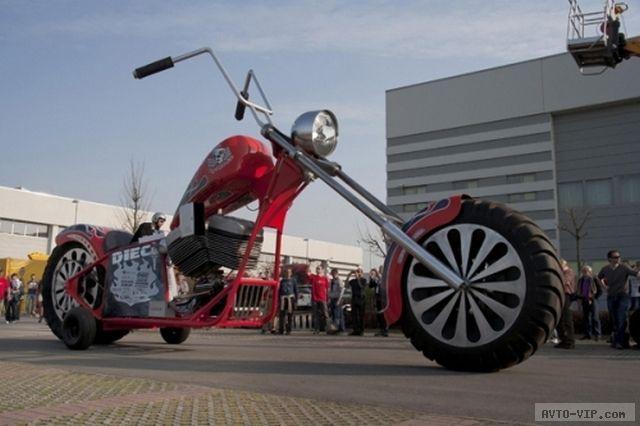 фото Самый большой мотоцикл в мире