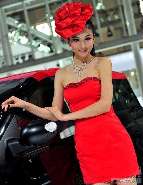 Самые красивые девушки Пекинского автошоу (фото)