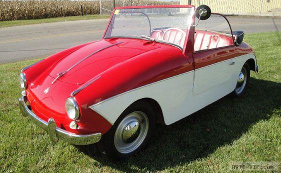 Продажа подержанных микроавтомобилей 1959 PTV 250 кабриолет
