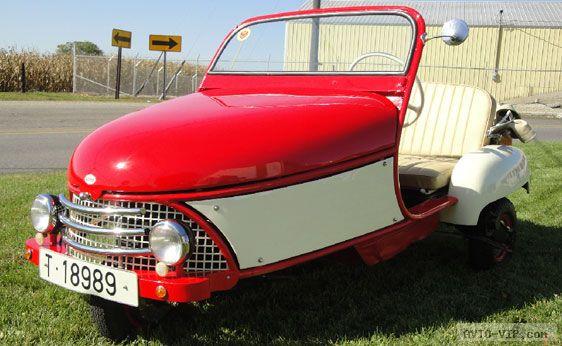 Продажа подержанных микроавтомобилей 1958 Дэвид кабриолет
