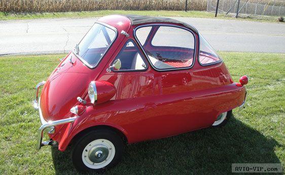 Продажа подержанных микроавтомобилей 1956 BMW Isetta Bubble Coupe