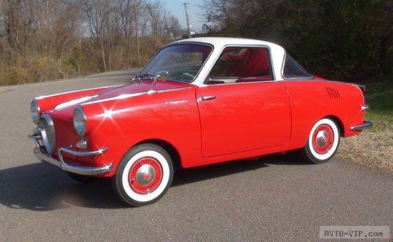 Продажа подержанных микроавтомобилей 1958 Goggomobil TS Coupe