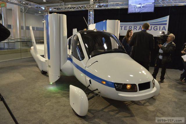 Летающие машины: Terrafugia Transition (фото, видео)