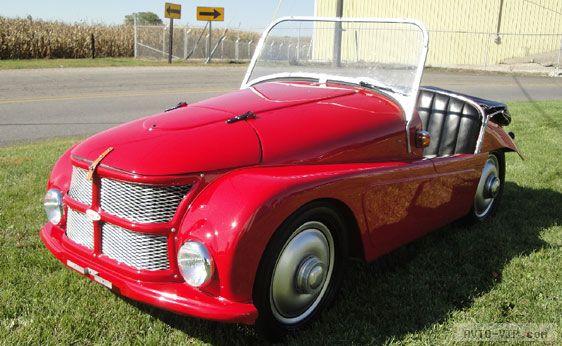 Продажа подержанных микроавтомобилей 1952 Kleinschnittger F125 кабриолет