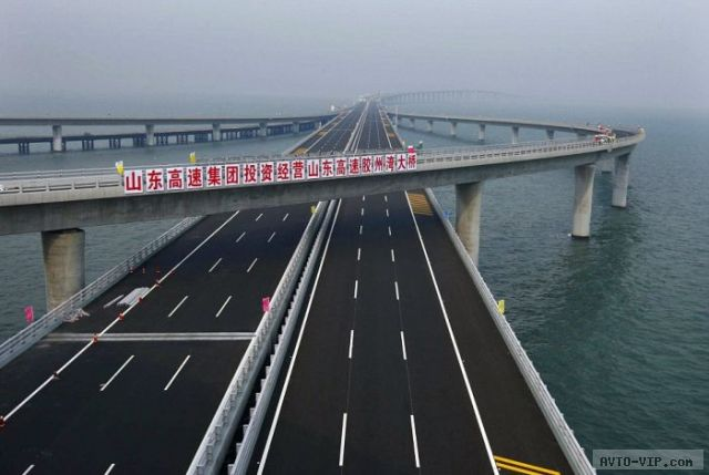 Самый длинный морской мост в мире