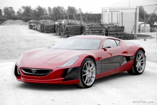 Хорватский электрический суперкар Rimac Concept One