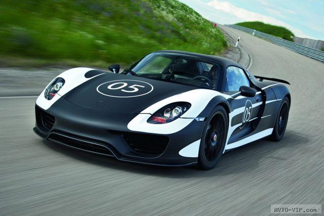 прототип Porsche 918 Spyder (фото)