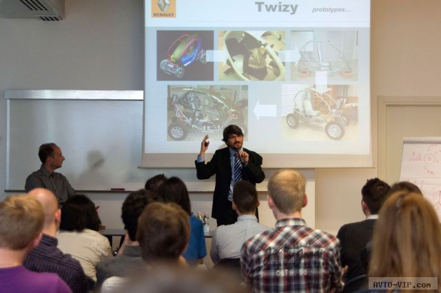 Renault Twizy presentation at SPD - Luciano Bove