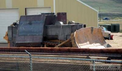 Марвин Химаер соорудил из бульдозера настоящий непобедимый танк