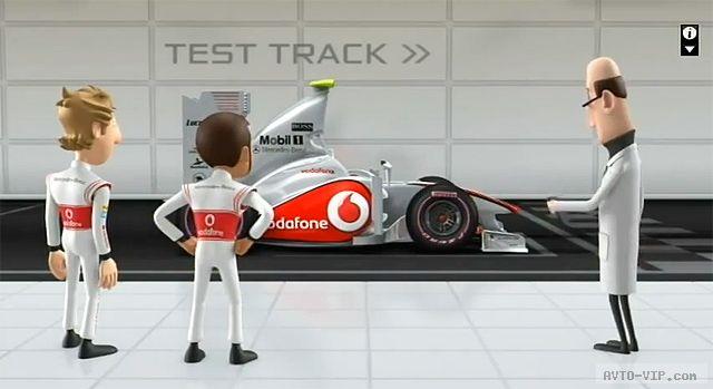 McLaren Animation (Tooned) - мультфильм о Формуле1