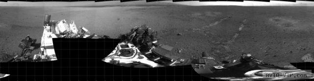 Тест-драйв Кьюриосити на Марсе