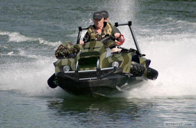 Quadski используется и для военных целей