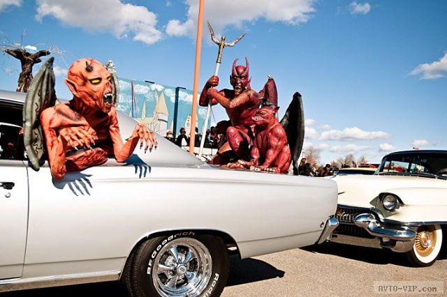 Хэллоуин - костюмы для машин