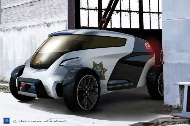 GM Engage Volt Squad 2025 год - полицейские автомобили будущего