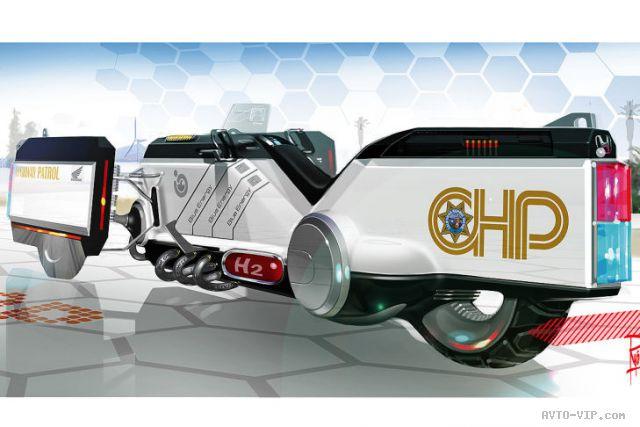 Honda 2025 год - полицейские автомобили будущего