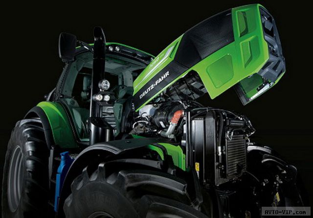 Трактор года 2013 -  Deutz-Fahr Agrotron 7250 Ttv avto-vip.com