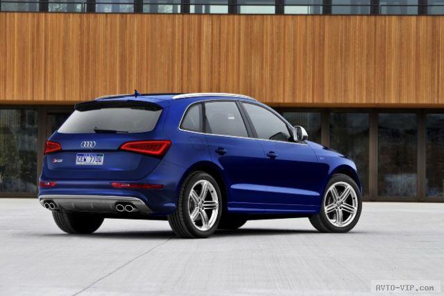Audi SQ5 Детройт 2013