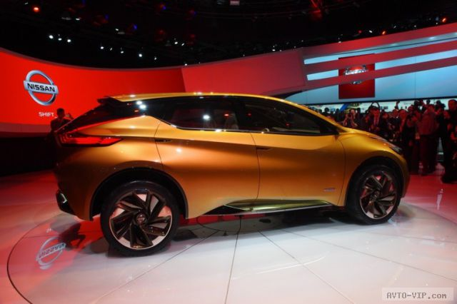 Nissan Resonance: прототип нового Murano