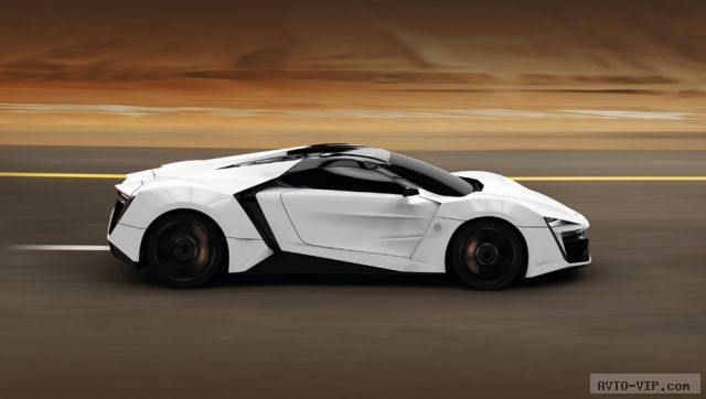 арабский суперкар LykanHyperSport