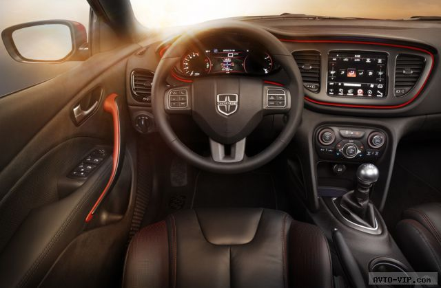 Автомобиль со спортивными амбициями Dodge Dart GT
